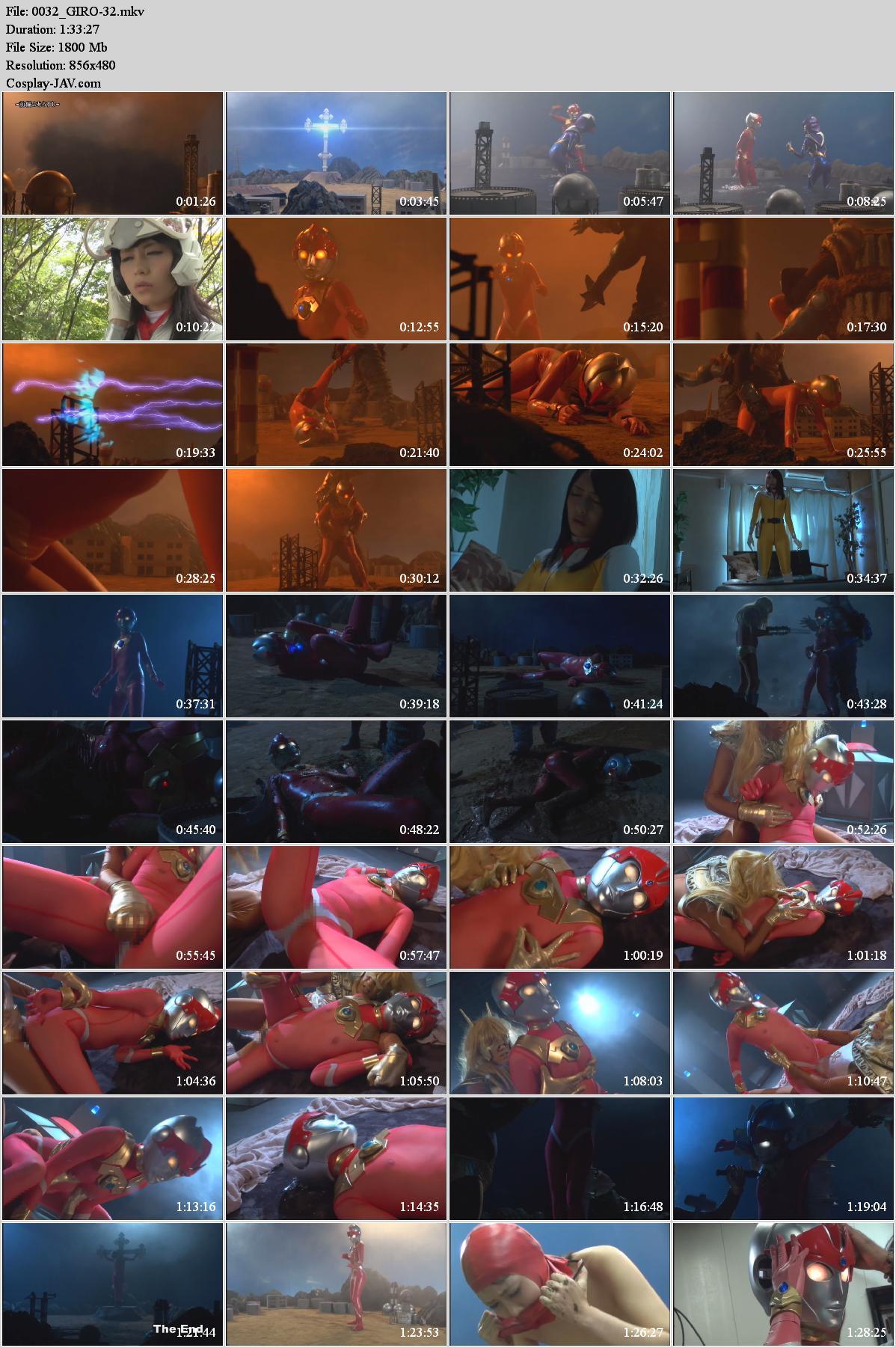 GIRO-32 Huge Heroine Lucia Sequel Humiliation, Domination, Breast Milk Splash Sakurai Ayu, Fukui Aya, Shindou Ayumi